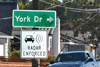 Expect Slow Traffic on Amador Valley Boulevard at York
