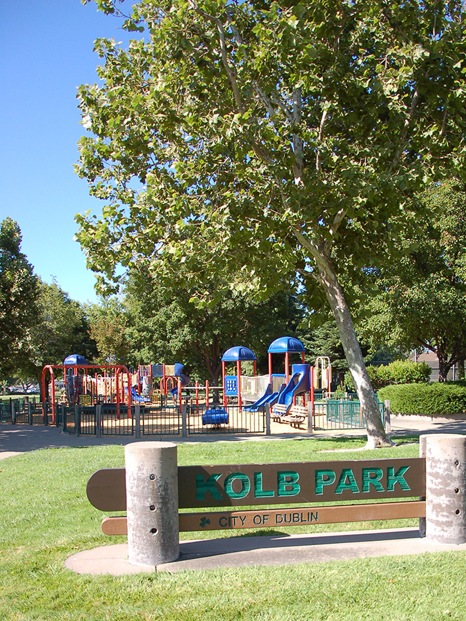Kolb Park in the East Bay Area