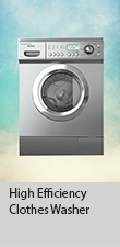 High Efficiency Clothes Washer Rebate