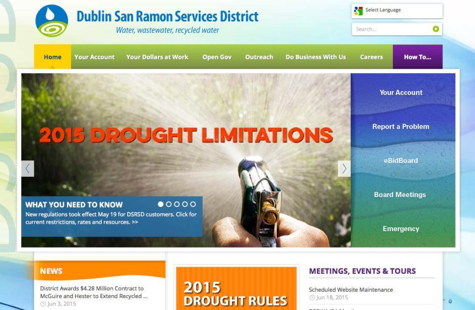 DSRSD website